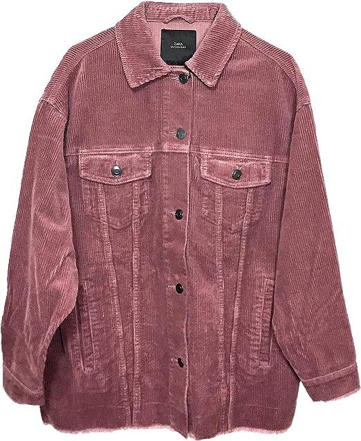 Zara Giacca Donna Rosa L: Amazon.it: Abbigliamento