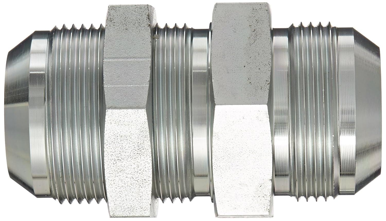 1-1//4 Tube OD 1-1//4 Tube OD End Size 1-1//4 JIC Carbon Steel m Eaton Aeroquip 2041-20-20S Bulkhead Union JIC 37 Degree End Types
