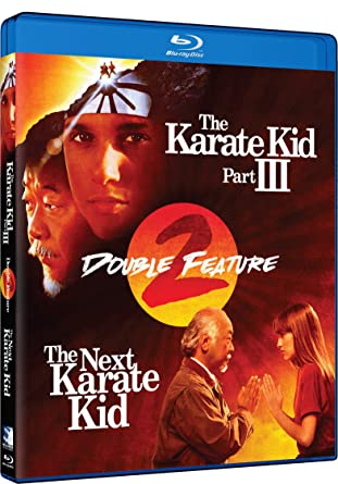Amazon Com The Karate Kid 3 The Next Karate Kid Double Feature Blu Ray Pat Morita Ralph Macchio Hilary Swank Robyn Lively Thomas Ian Griffith Michael Ironside Constance Towers Various Cine Y