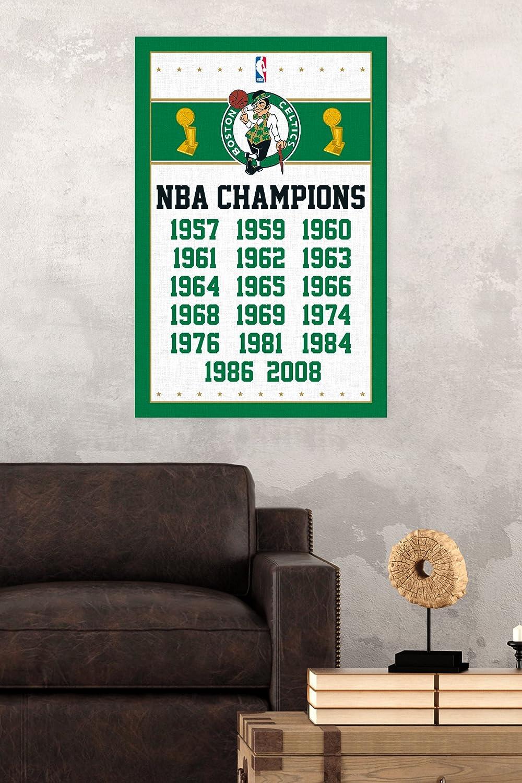 Amazon.com: Trends International Boston Celtics Champions Wall ...