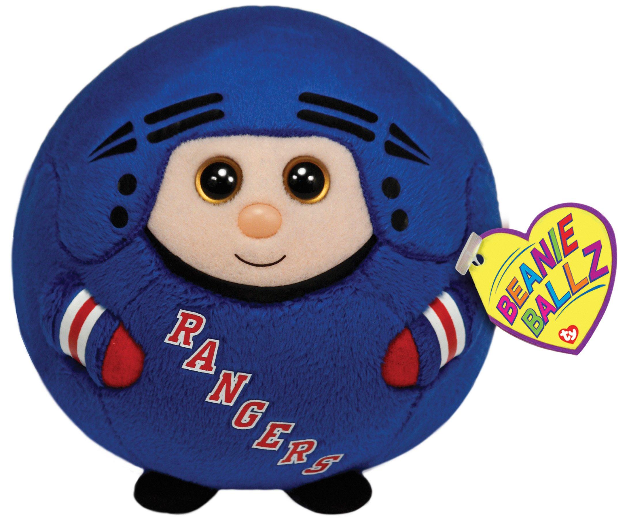 TY Beanie Ballz New York Rangers Plush, Large
