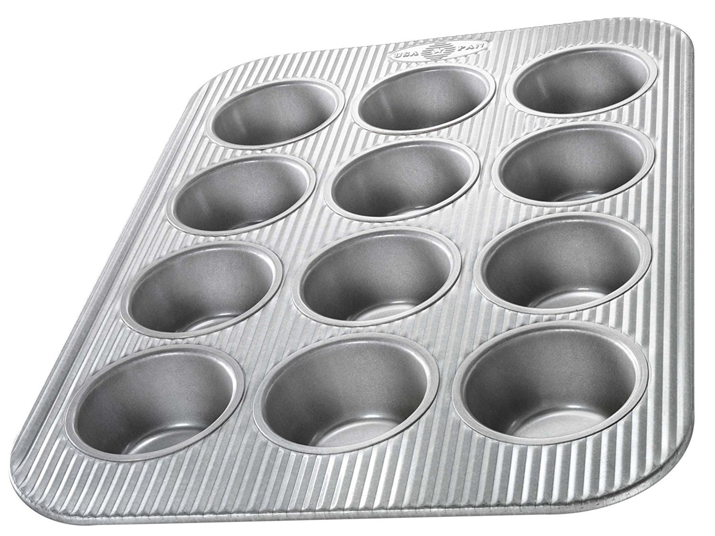 Usa Pans 1200mf Usa Pan Bakeware Cupcake And Muffin Pan, 12 Cups (Pack of 6)