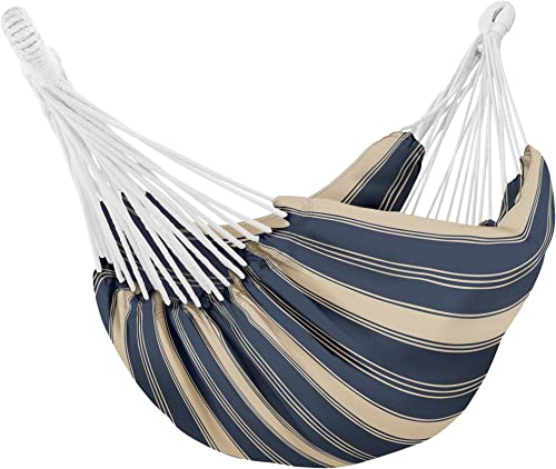Classic Accessories 50-033-010501-RT Montlake Fade Safe Brazilian Hammock, Heather Indigo Antique Beige