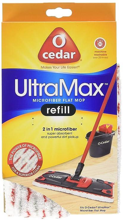 Amazon O Cedar Ultra Max Mop Refill Pack 1 Home Kitchen