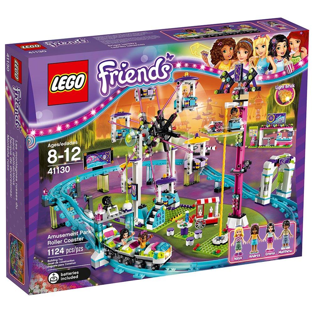 LEGO Friends Amusement Park Roller Coaster 41130 Toy for ...