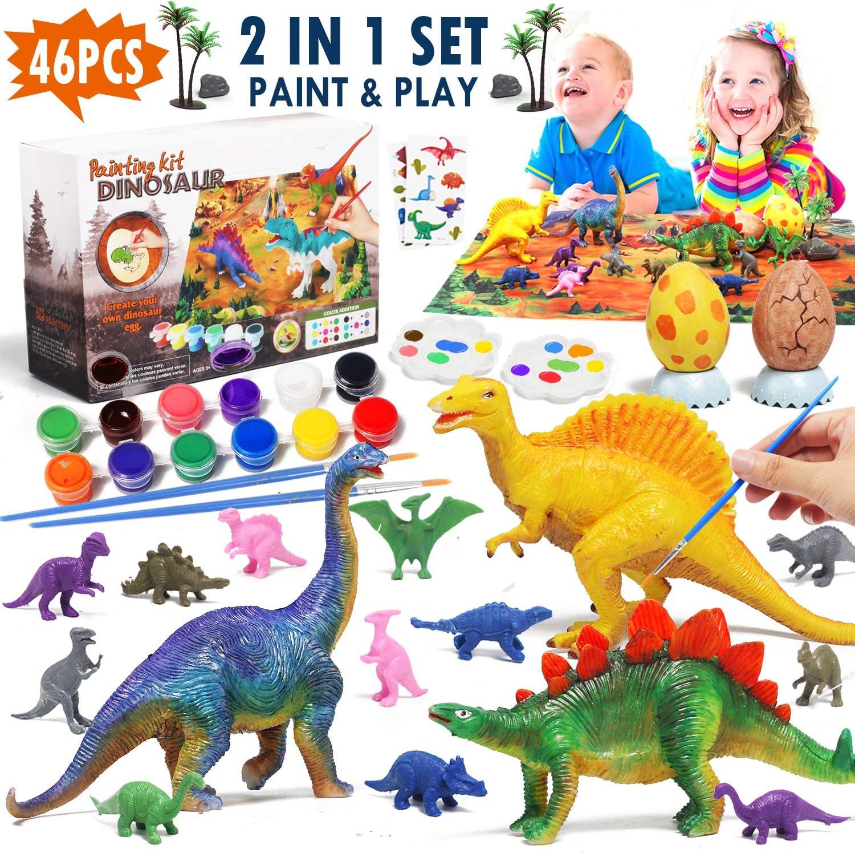 Munecos Y Figuras Tice Pintar Dinosaurios Para Ninos Diy Dinosaur Arts Crafts Gift Para Ninos Ninas Ninos Juguetes Y Juegos Vsamira Pt Aunque el origen exacto y su diversificación temprana es tema de activa investigación. vsamira pt