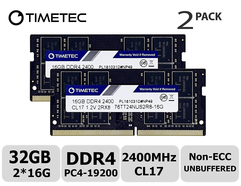 32GB KIT DDR4 2400MHz PC4-19200  260 Pin SODIMM