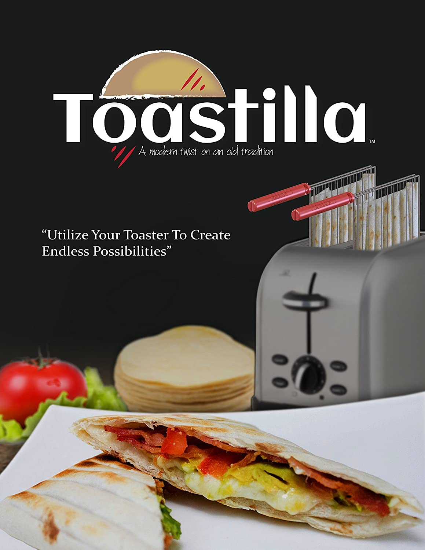The Original Toastilla 2-Pack - Make Quesadillas, Heat Corn Tortillas, Cook Frozen Foods, Grill Veggies & More In Your Toaster