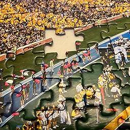 Amazon Com Customer Reviews Masterpieces Ncaa Missouri Tigers Football Stadium Panoramic Jigsaw Puzzle 1000 Pieces 13 X 39