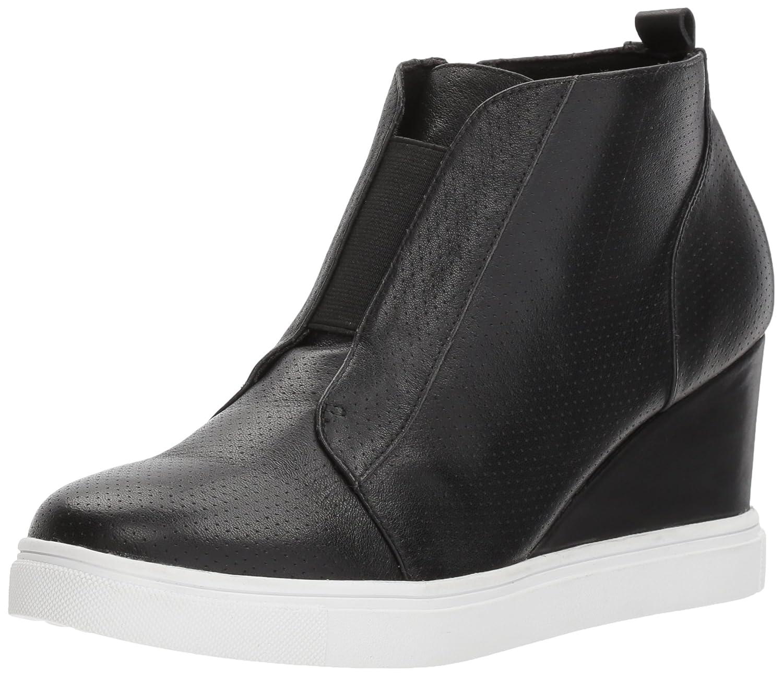 Blondo Women's Gatsby Waterproof Sneaker B078ZK6CBJ 11 B(M) US|Black Leather