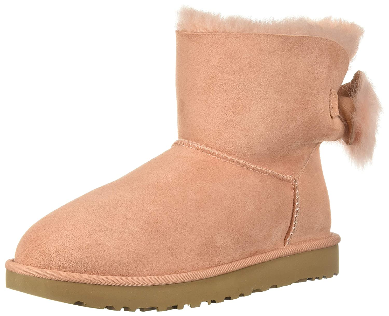 5fee367c2cb UGG Women's W Fluff Bow Mini Fashion Boot