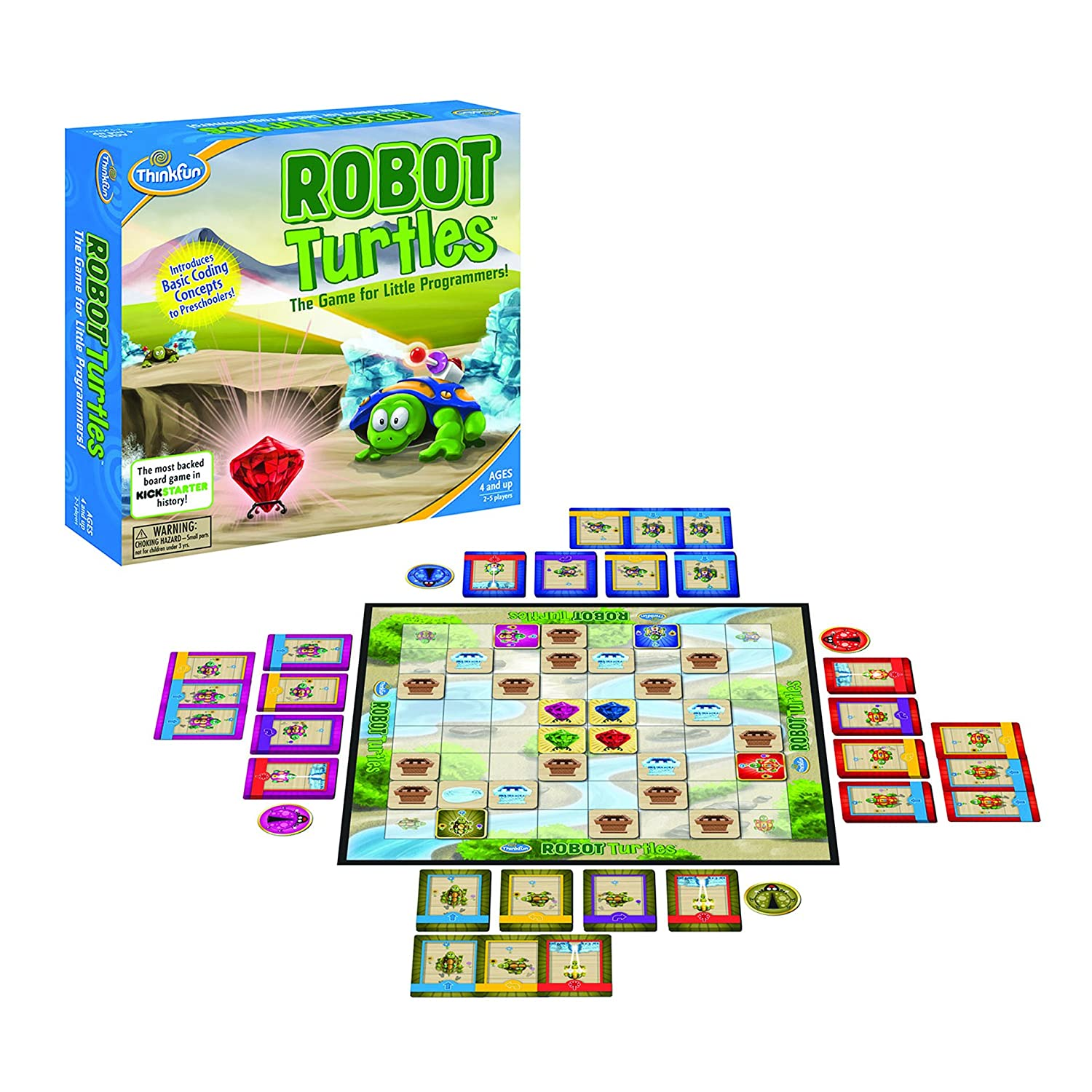 Amazon ThinkFun Robot Turtles Board Game Amazon Launchpad