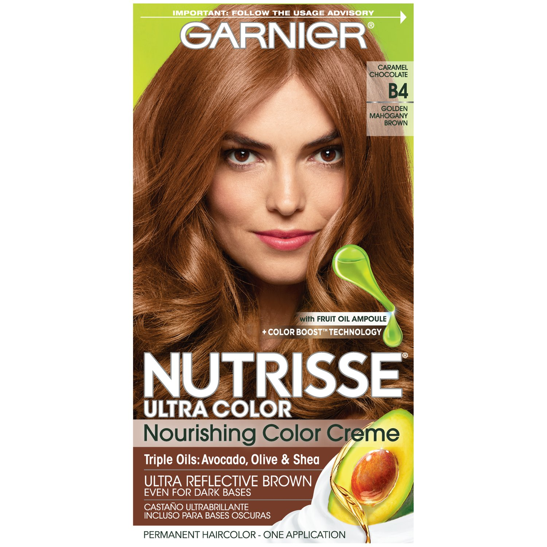 Garnier® Nutrisse® Ultra Color Nourishing Color Creme in BR2 Dark Intense  Burgundy