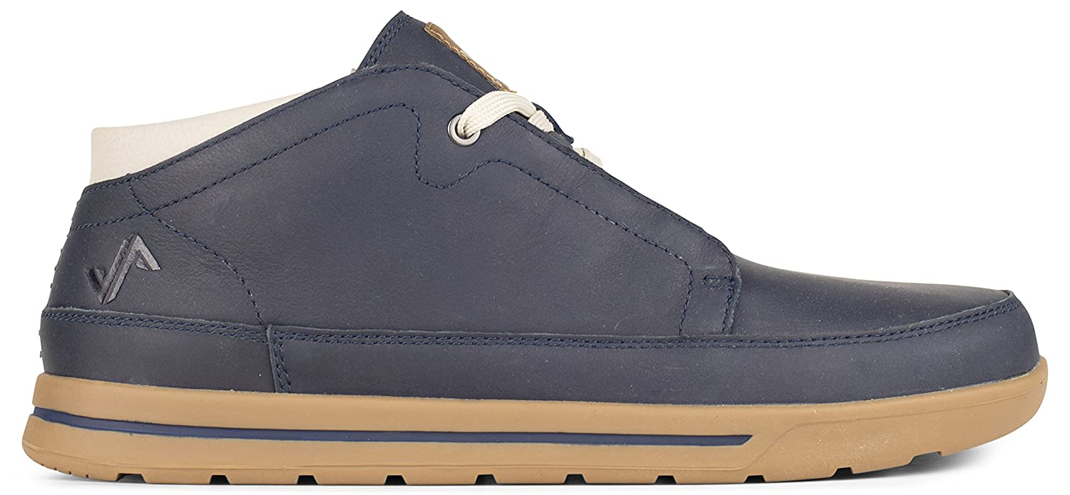 4055ca03c89 Forsake Phil Chukka - Men's Casual Leather Mid-Top Blue Size: 9 UK ...