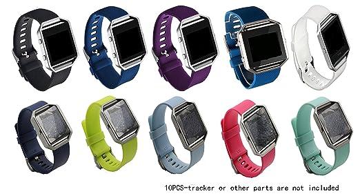 2 opinioni per Fitbit Blaze JOMOQ polsini in Silicone, bracciali/polsini di attività Wireless