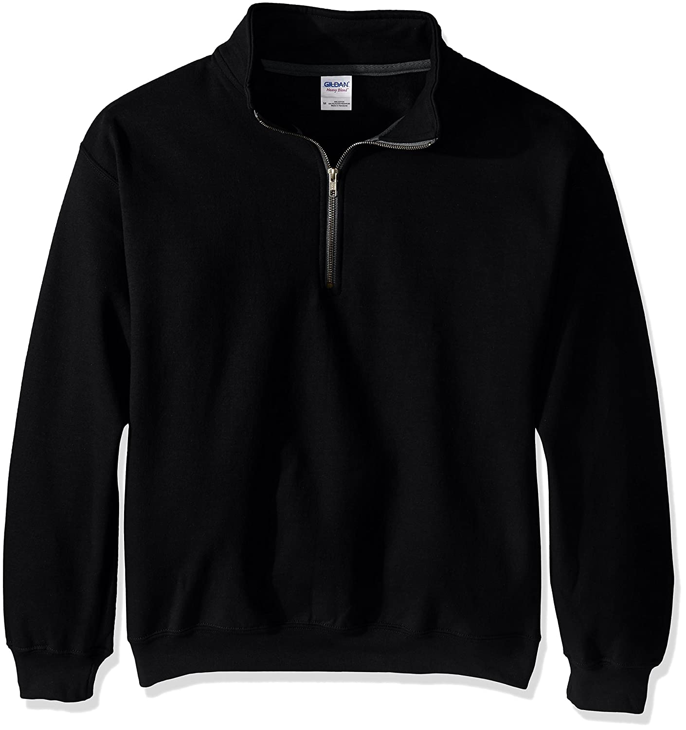 Gildan Mens Fleece Quarter-Zip Cadet Collar Sweatshirt  Amazon.ca  Clothing    Accessories b454bc476f05