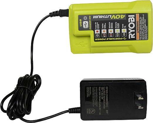 Amazon.com: Ryobi OP403 - Cargador de batería con conector ...