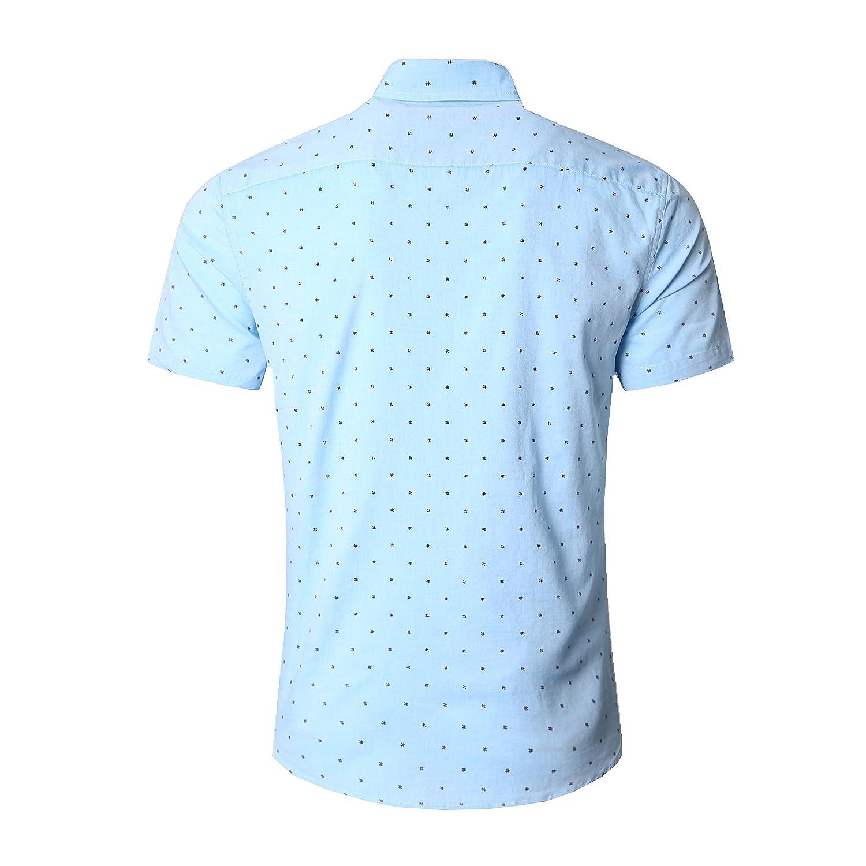 Amazon Nutexrol Mens Premium Polka Dot Print Casual Shirt