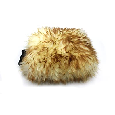 Maxshine Sheepskin Scratch Free Wool Mitt for Car Detailing: Automotive