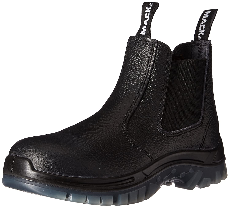 c1e81c443fc Amazon.com: SAS Safety E93811031 Mack Tradie Boots, USA 7, Black ...