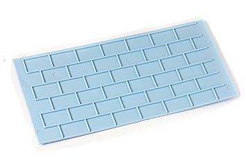missbirdler pasteles Cake Forma tartas fondant Cutter molde Fondant estera silicona forma de modelado Wall ladrillo Wood Bricks Joven obras Cumpleaños: ...