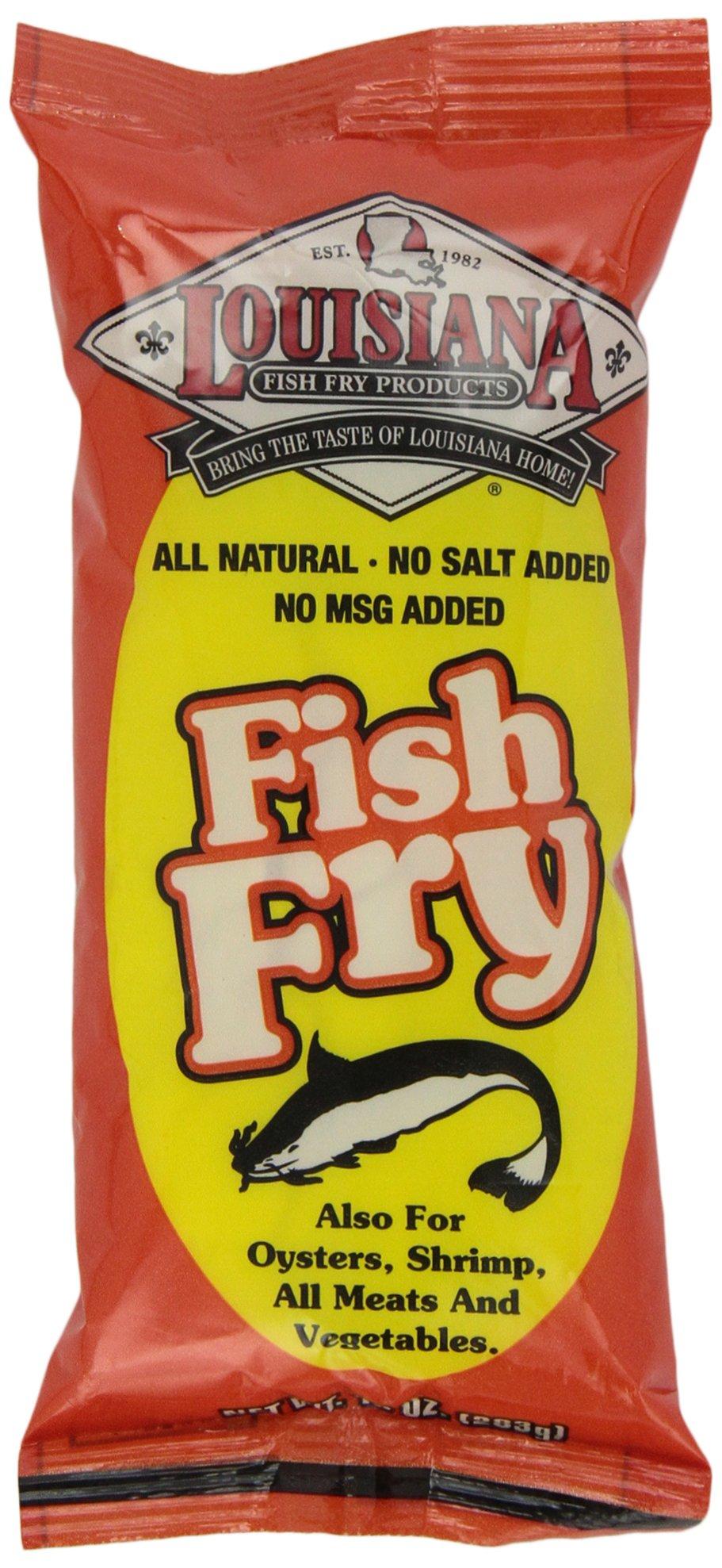 Louisiana Fish Fry Products All Natural Fish Fry, 10 oz