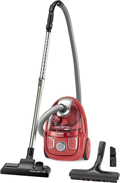 Rowenta RO5353EA - Aspirador sin bolsa, fácil de transportar y guardar, filtro HEPA 10: Amazon.es: Hogar