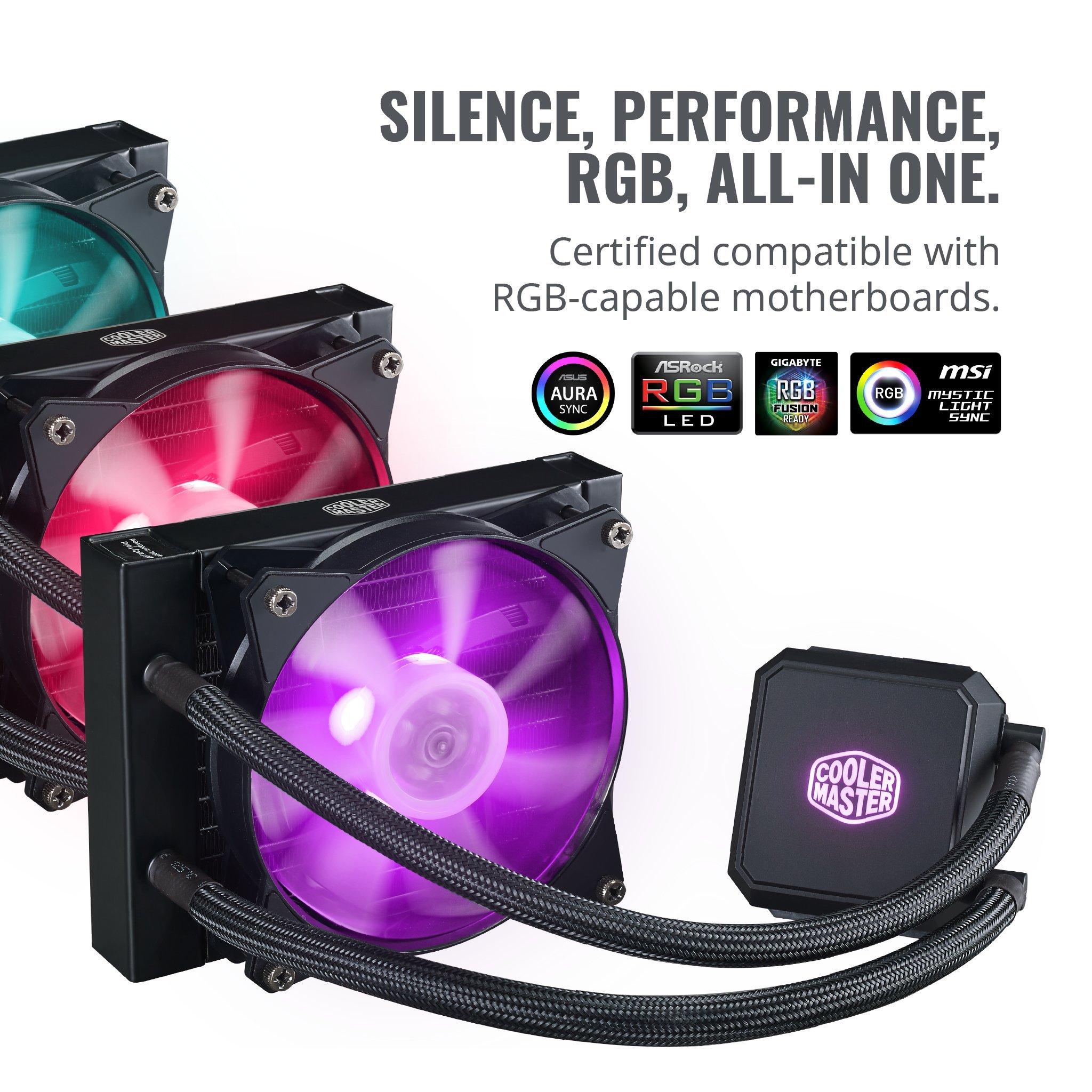 Cooler Master MasterLiquid LC120E RGB All-in-one CPU Liquid Cooler