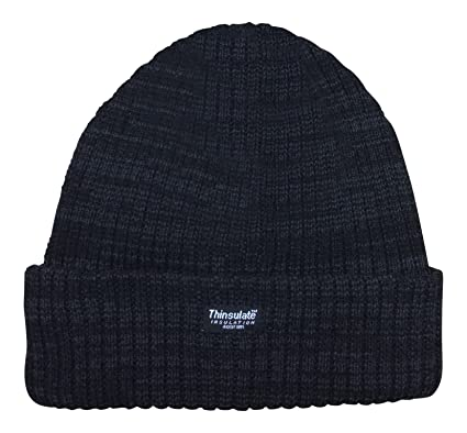 Unisex Marl Chunky 3M Thermal Thinsulate Insulated Hat ae05a85af20