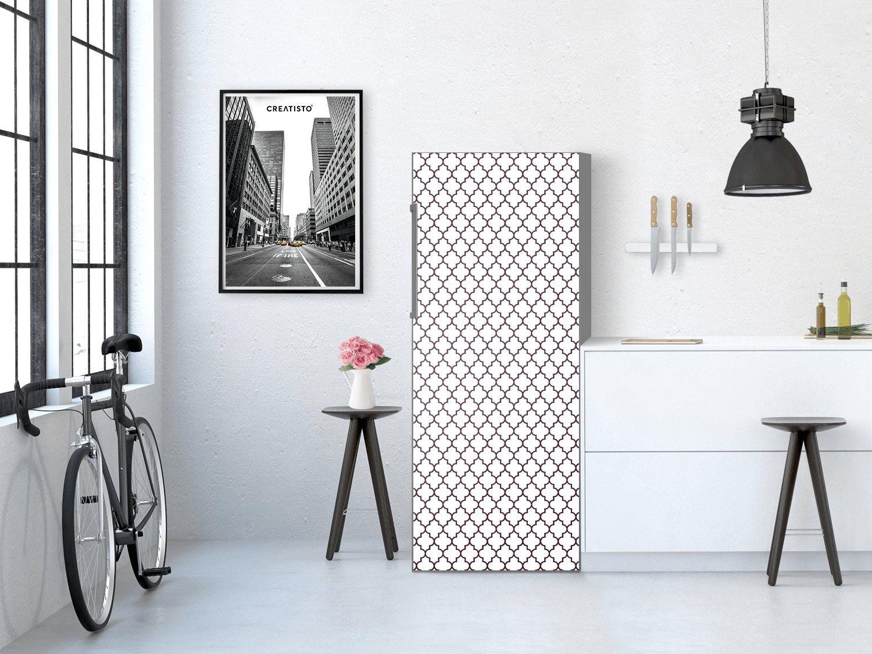Kühlschrank Bekleben Retro : Creatisto kühlschrankfoto kühlschrank cm muster