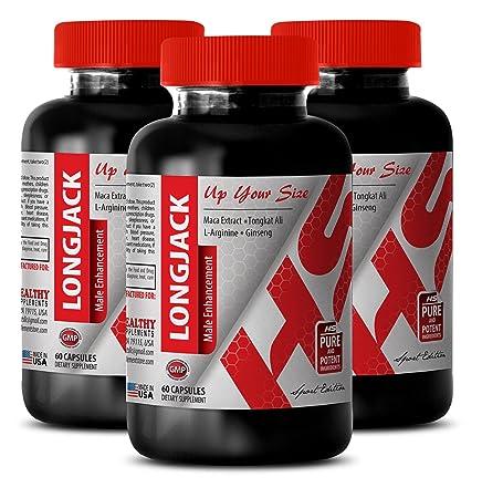 Pills for men stay hard – LONGJACK – MALE ENHANCEMENT – UP YOUR SIZE – Longjack men – 3 Bottles 180 Capsules