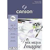 Canson - Bloc a Dessin Imagine, Format A1