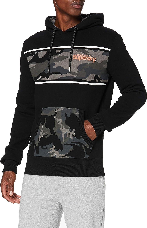 Superdry Core Logo Camo Hood Cappuccio Uomo