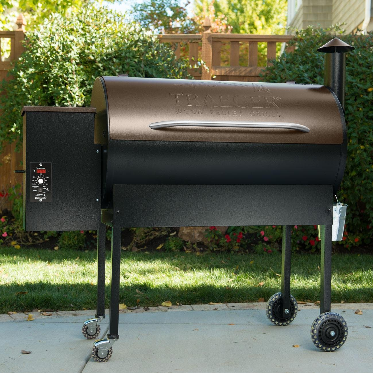 Pellet Grill Smoker Cover For Traeger Pit Boss Heavy