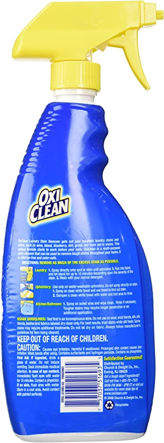 Amazon.com: Liquid Oxi Clean paquete quitamanchas, 2 ...
