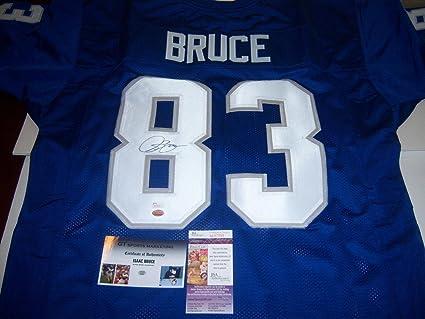 wholesale dealer b8898 da9ec Autographed Isaac Bruce Jersey - Memphis Tigers hof Gtsm coa ...