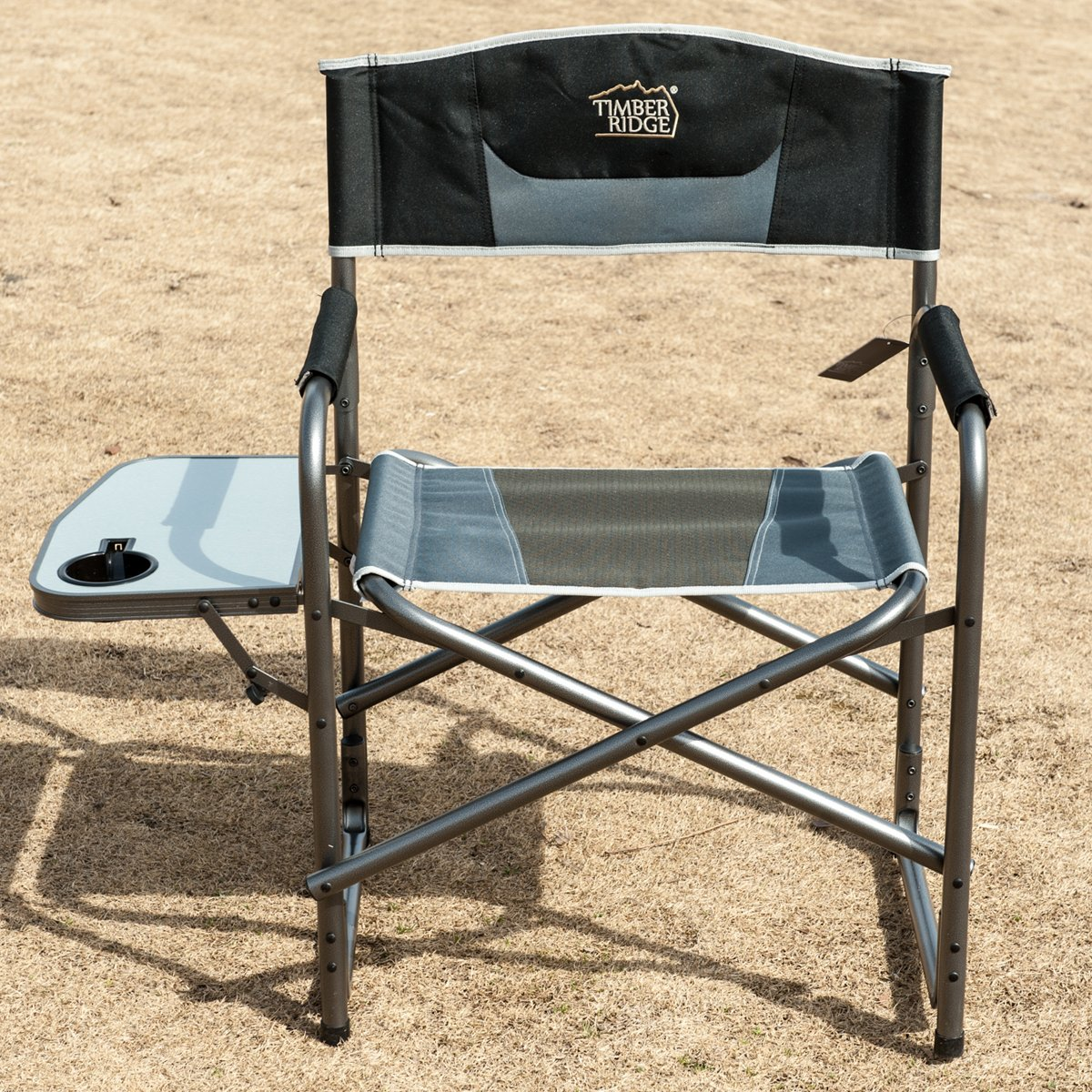 Aluminum Portable Outdoor Home Picnic Director s Folding Chair with Side