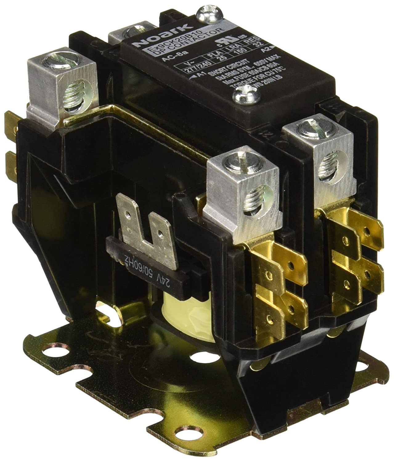 81xnZJyPFCL._SL1500_ noark electric ex9ck20b10b7 definite purpose contactor, lug definite purpose contactor wiring diagram at couponss.co