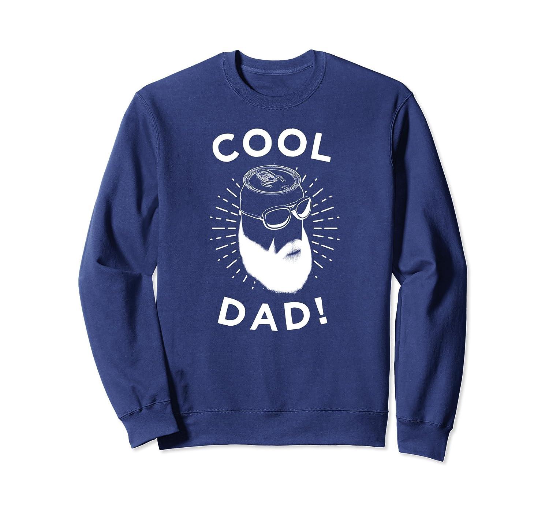 Beer Beard Dad Sweatshirt, Cool Dad Apparel For Fathers Day-alottee gift