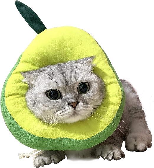 Collar de Protección para Gatos,Collar Ajustable Suave ...