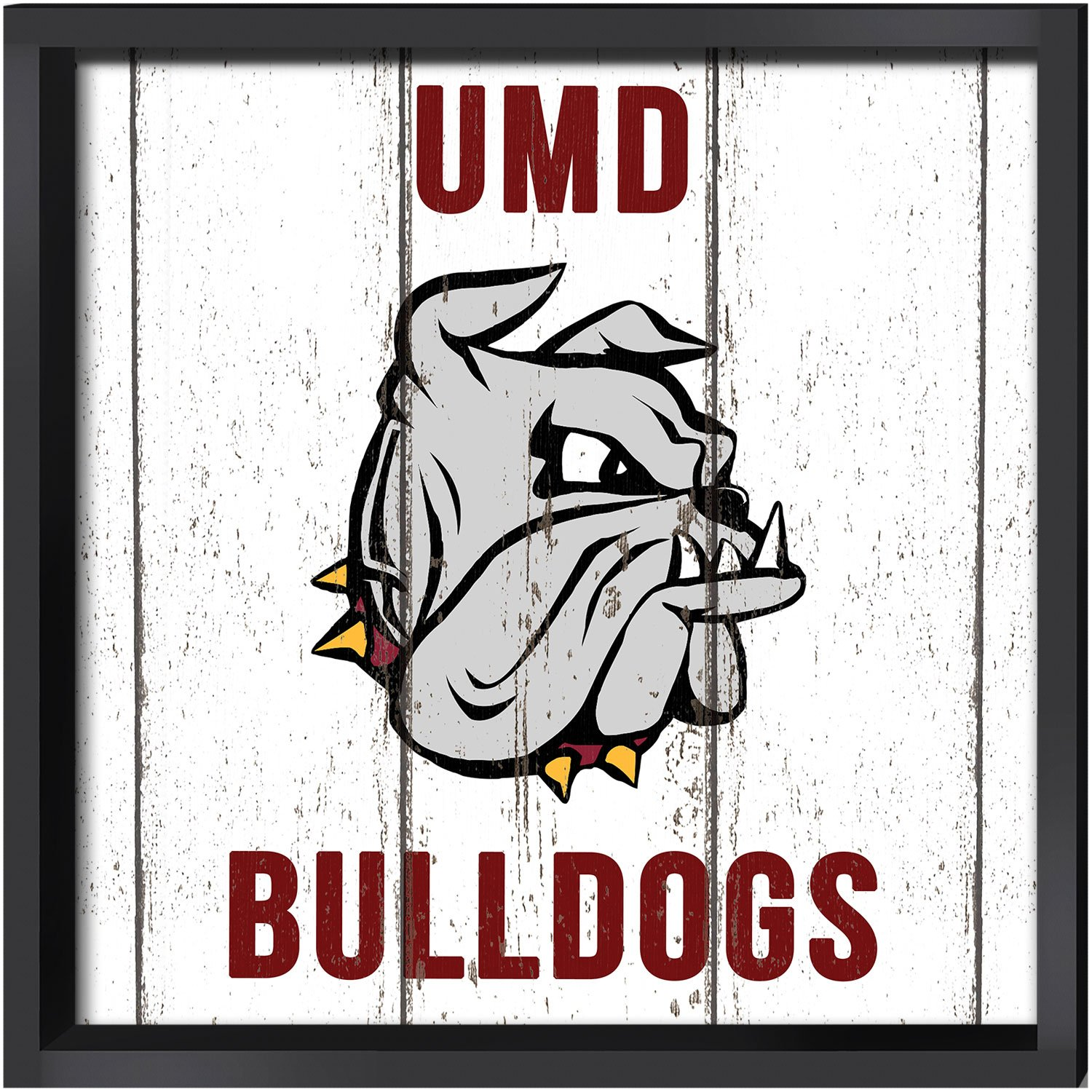 Duluth KH Sports Fan 16x16 Minnesota Weathered Logo Collage Plaque