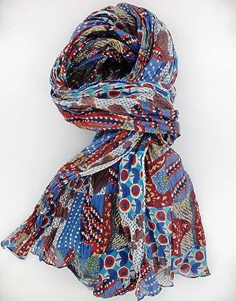 Foulard, bufanda, chèche mm, 200 x 110 cm, 100% algodón, diseño ...