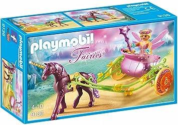 Playmobil Hadas Flor con Carro única 9136