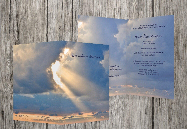 tomamos a los clientes como nuestro dios Mitternachtsazul 90 Karten Karten Karten Tarjeta de luto Cielo, Mitternachtsazul, 90 Karten  connotación de lujo discreta