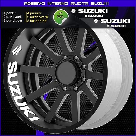 KIT STRISCE per CERCHI 17 compatibili MOTO SUZUKI GSR Adesivi stickers tuning