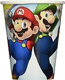 Amscan Gobelets Super Mario en Papier de266ML - 581554