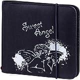 Hama Up to Fashion Pochette en nylon pour 24 CD/DVD Bleu avec motif Sweet Angel