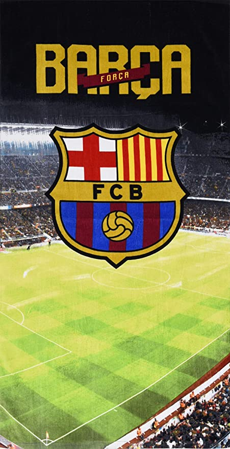 Barcelona Football Club - Toalla de Playa Oficial