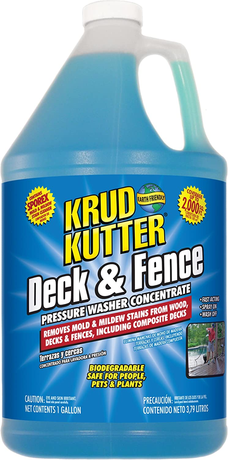 Amazon Com Krud Kutter Deck And Fence Pressure Washer