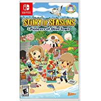 Story of Seasons Pioneers of Olive Town - Nintendo Switch Games and Software